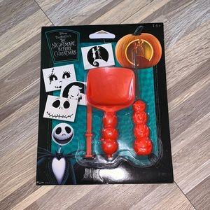 DISNEY nightmare before Xmas pumpkin carving kit!